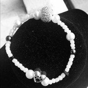 Jewelry - Paw charm bracelet
